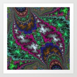 Fractal Nexus Art Print