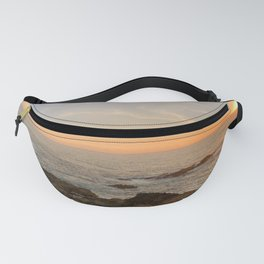 Point Cabrillo Lighthouse : Pacific Ocean Sunset Fanny Pack