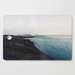 From the other side, Jökulsárlón, Iceland Art Print Cutting Board