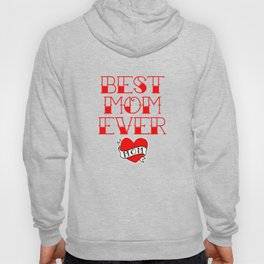 Best Mom Ever Tattoo Style Mother's Day T-Shirt Hoody