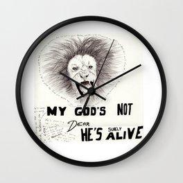 God's Not Dead Wall Clock