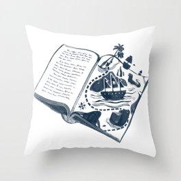 A Vivid Imagination Throw Pillow