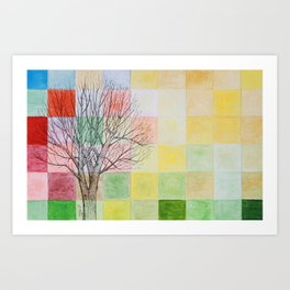 Autumn Past Art Print
