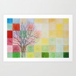 Autumn Past Art Print
