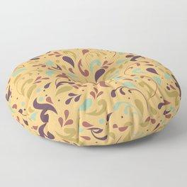 Swirls & Curls Floor Pillow