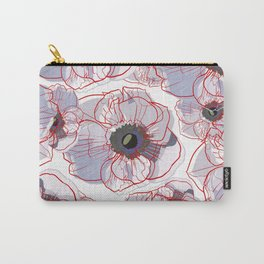 BLOOM RED Carry-All Pouch
