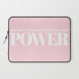 no one is you Laptop Sleeve