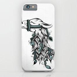 Poetic Llama iPhone Case