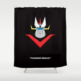 Great Mazinger Shower Curtain