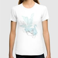 swan T-shirts featuring Swan by Lucy Selina Hall