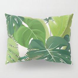 Tropical Party art illustration Pillow Sham