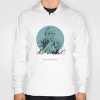 pablo picasso Hoodies featuring Pablo Picasso by Mark McKenny
