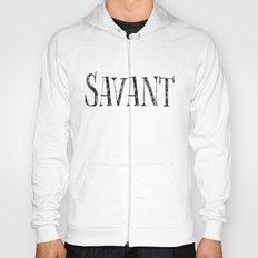 Savant - black on white version Hoody