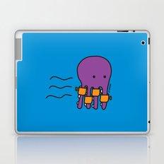 Swimming Octopus Laptop & iPad Skin