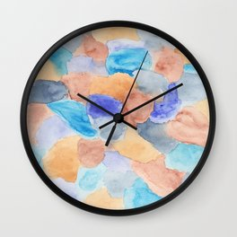 Seaglass Mosaic Wall Clock