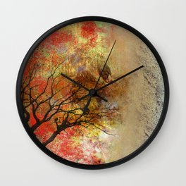 The Warm Side of Life Wall Clock