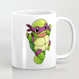 TMNT_POKET_MONSTER_purple Coffee Mug