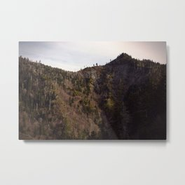 Mountain Cleft Metal Print