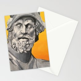 stone man Stationery Cards