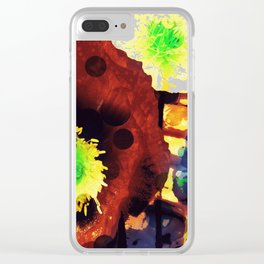Les coquelicots [2] Copper tremens Clear iPhone Case