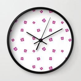 Pink Jigglypuff Wall Clock