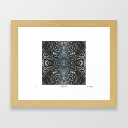 bees electric Framed Art Print