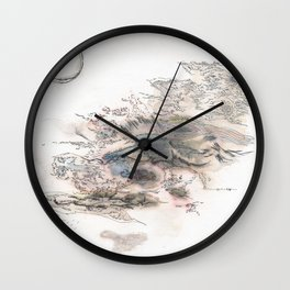 THE BIRTH AND THE DEATH Wall Clock