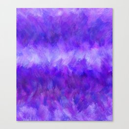 Dappled Blue Violet Abstract Canvas Print