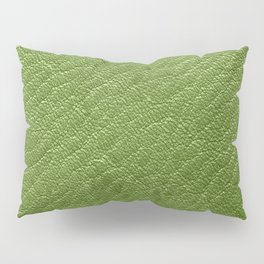 Leather Texture (Green) Pillow Sham