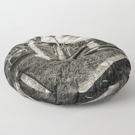 Great Orme Graveyard Floor Pillow