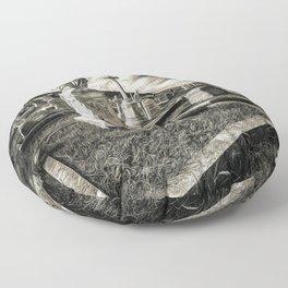 Great Orme Graveyard Floor Pillow