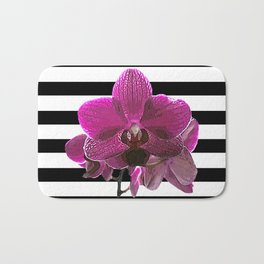 Purple Orchid Bath Mat