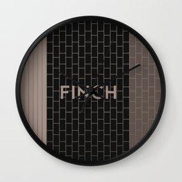 FINCH | Subway Station Wall Clock