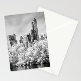 Central Park and Midtown Manhattan in Infrared Stationery Cards