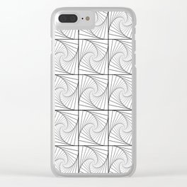Psychedelic Clear iPhone Case
