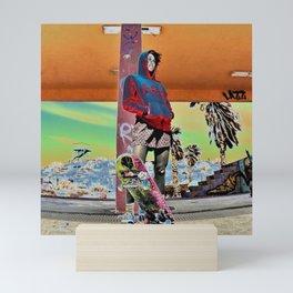 SK8er Girl Mini Art Print