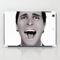american psycho iPad Cases featuring American Psycho by Alexia Rose