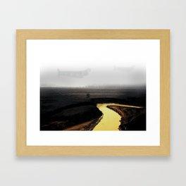Sulfur River Framed Art Print