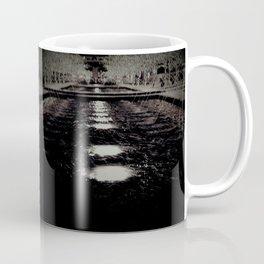 Darker Still - Fountain in Midnight and Black Coffee Mug