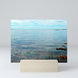 Looking Out to See The Sea Mini Art Print