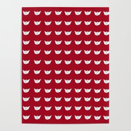 The Paper Boat Red edition N.1 Poster