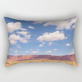 Desert Sky, Fine Art Photography Rectangular Pillow