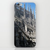 milan iPhone & iPod Skins featuring Milan Duomo by Melinda Zoephel