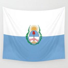 flag of mendoza Wall Tapestry