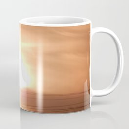 Dawn over high-rise buildings in the city Coffee Mug