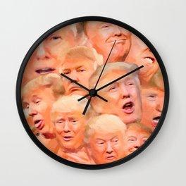 Trumpmania Wall Clock