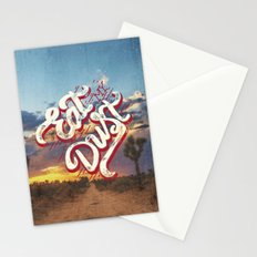 Eat My Dust Stationery Cards