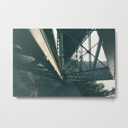 Deception Pass Bridge III Metal Print