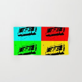 Cassettes Square Hand & Bath Towel
