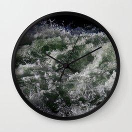 Rapids Frozen in Time Wall Clock